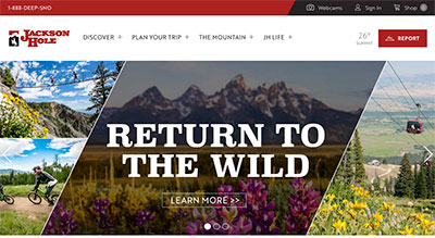Jackson Hole website