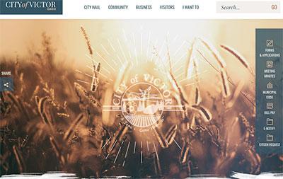 City of Victor website